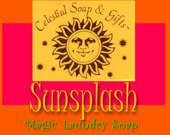 Sunsplash Natural VEGAN Laundry Soap Powder SAMPLE  6 oz.  5-10 LOADS