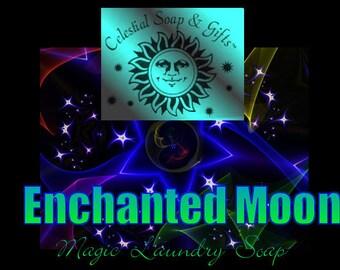 ENCHANTED Moon Natural VEGAN Laundry Soap Powder 6 oz 5-10 Loads SAMPLE