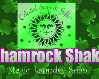 Shamrock Shake VEGAN Laundry Soap Powder Bag - 40-80 LOADS Gross Wt. 44 oz.