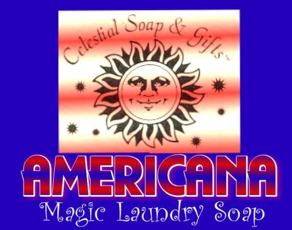 44 oz. AMERICANA Natural Laundry Soap Powder Bag Vegan 40-80 LOADS Gross Wt. 44 oz