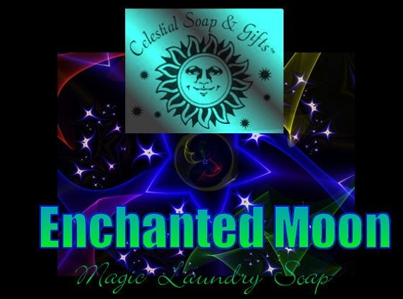ENCHANTED Moon Natural VEGAN Laundry Soap Powder 6 oz 5-10 Loads SAMPLE