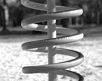 Spiral Nostalgia Series Black and White Photography Wall Art Digital Download Home Decor Kids Decor