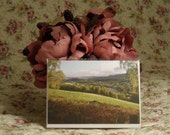 GREETING CARD: Aberlour, River Spey, Scotland (Free P&P)