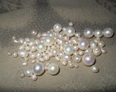 White Freshwater Pearl Lot DESTASH