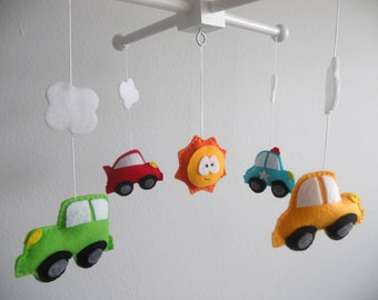 Baby Crib Mobile-Cars Mobile-custom Made Mobile