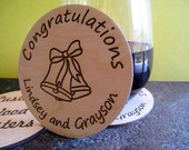 Custom Birch Ply Wood Coasters, your design.