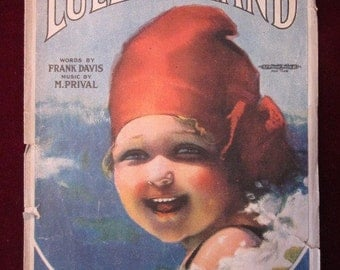 Lullaby Land Sheet Music Cover