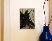 Abstract Etching Print:Parting