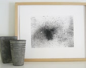 Summer Sale ...Minimalist Fine Art ScreenPrint: Faded
