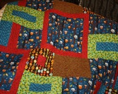 Forest Fun by Amy Schimler Twin Bed Size quilt 72 X 90