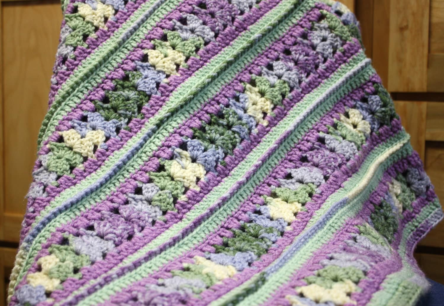 Crochet Afghan Patterns Mile A Minute : mile a minute afghan