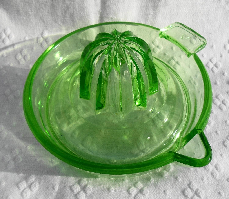 Vintage Green Depression Glass 99