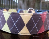 Argyle : Red Brown Blue Yellow Green