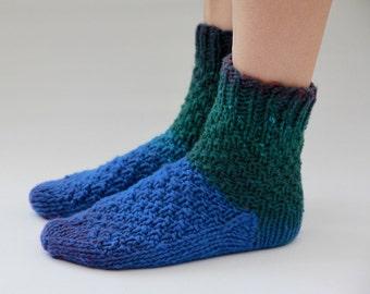 Womens Home Socks, Knitted Socks, Wool Socks, Gift for Her, Socks for Women, Winter Socks