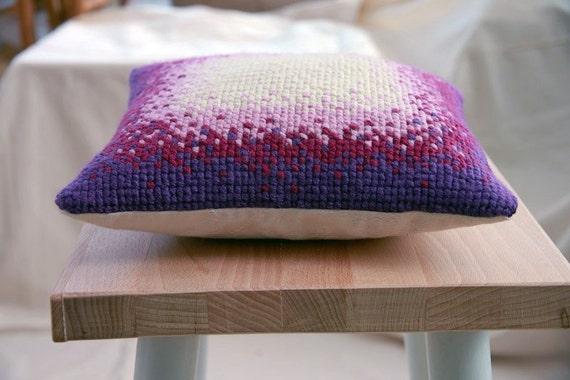 Handmade Cross-stitch Cushion