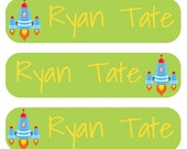 Personalized permanent labels for kids