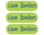 115 Back to School Iron On Labels - Clothing labels for kids