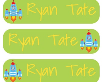 48 Personalized Custom Labels for Kids