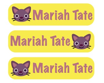 48 Baby Labels with your child's name