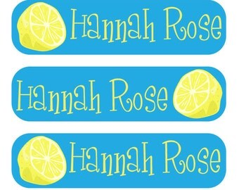 48 Dishwasher safe and Waterproof Personalized Sippy Cup Labels
