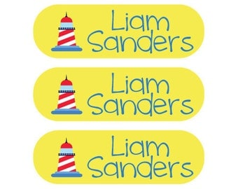 Custom Private School Uniform Labels - Washing machine and dryer safe - 115 Personalized Labels