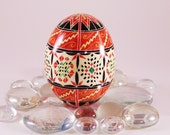 Duck Pysanky Egg, Quilt Side Band