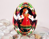Duck or Turkey Pysanky,4 Dancing Girls  SPECIAL ORDER One of a Kind