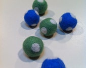 Felted Ball Beads- A Day On the Boat