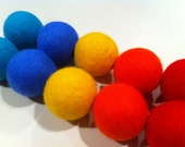 Scented Dryer Balls- Set of 10 It's Still Summer Colors