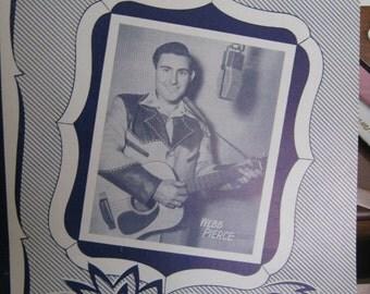 "Vintage Sheet Music ""Back Street Affair"""