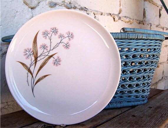 Set Vintage Plates, Four Syracuse, Carefree Windswept