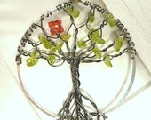 Tree of Life TUTORIAL, How to Make wire wrapped pendant. BEGINNER Lesson EBook