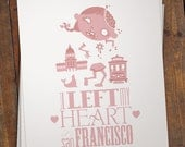 I Left My Heart in San Francisco (Pink)