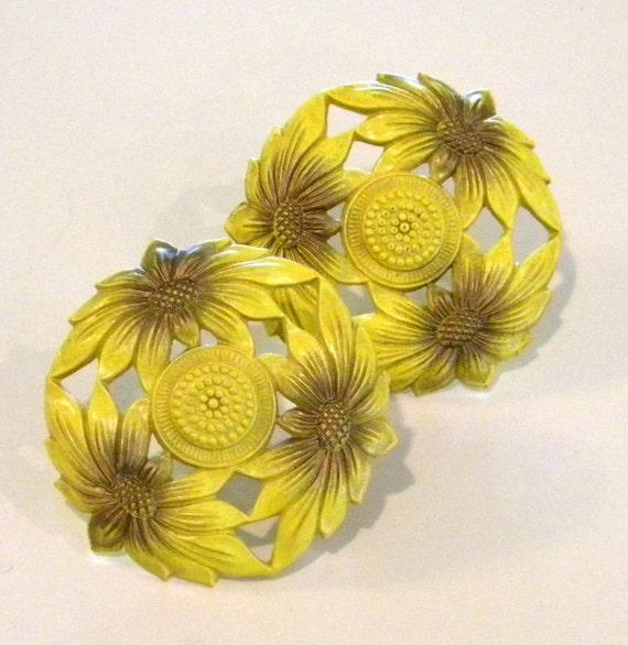 Sunflower Curtain tacks