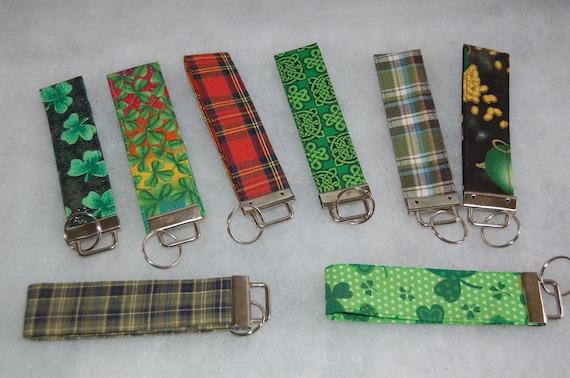 Handmade Fabric Key Fob