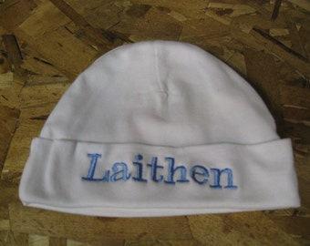 Personalized Baby Knit Hat