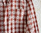 Charles // Vintage Men's Plaid Shirt