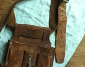 Terrific Vintage TOOL Belt by PunchedupPatina