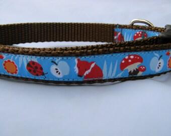 Dog Collar- Fox Blue
