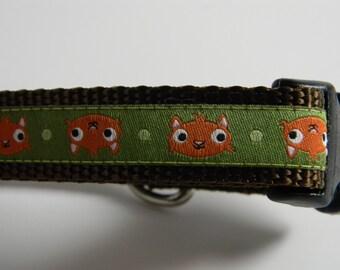 Dog Collar- Chipmunks