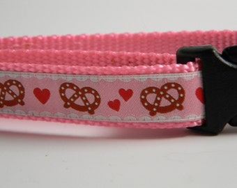 Bavarian Pretzel Ribbon- Pink for Kurse Killstitch
