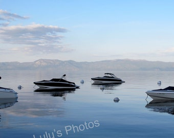 Lake Tahoe at Dusk Collection, Landscape Photography