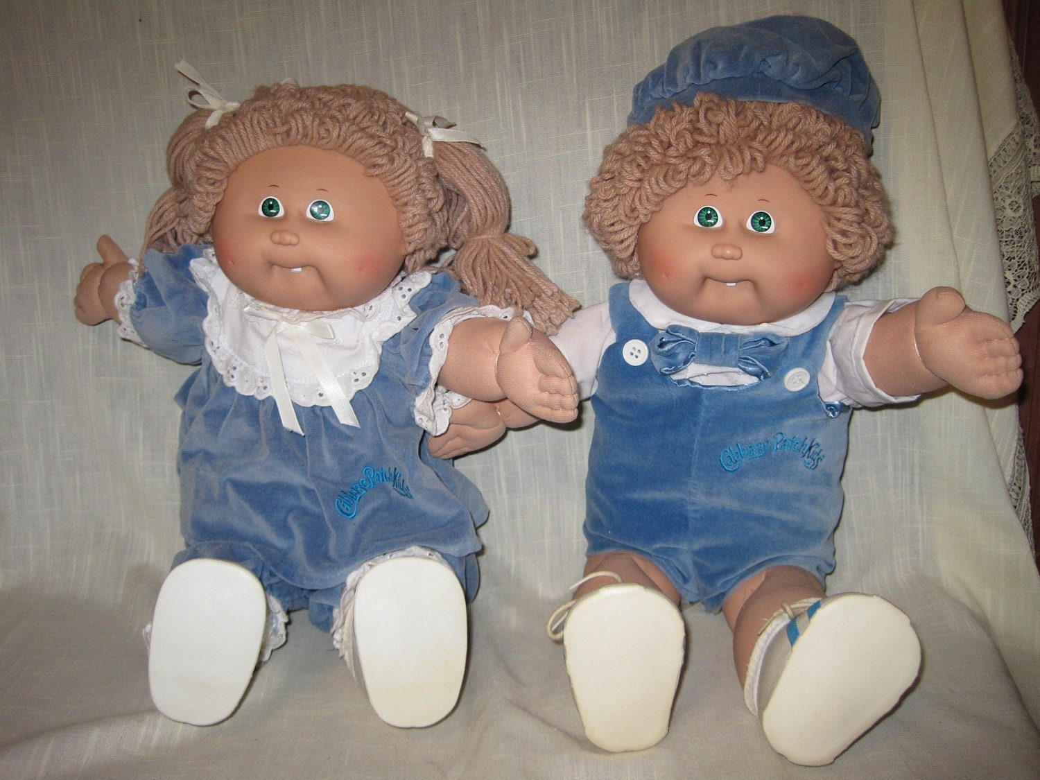 Cpk Vintage 1980s Coleco Cabbage Patch Twins One Boy By