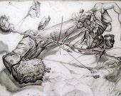 Stumphand Twighead (original pencil drawing)