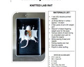 Knitted Lab Rat pattern PDF