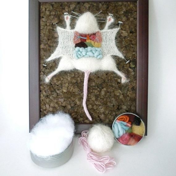Knitted Lab Rat DIY Kit