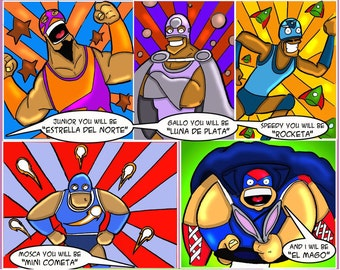 Custom Comic Page - Full color