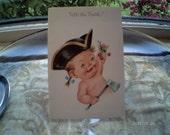 Tell the Truth - Vintage Birthday Card - UNUSED