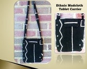 Ethnic Mudcloth Tablet Carrier or Ipad Carrier