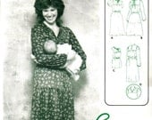Ellen Dress Pattern designed for the nursing Mother Baby too sizes  Petite-Lg